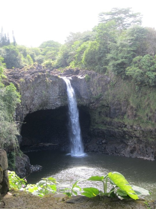 Rainbow Falls, The Big Island, Hawaii.