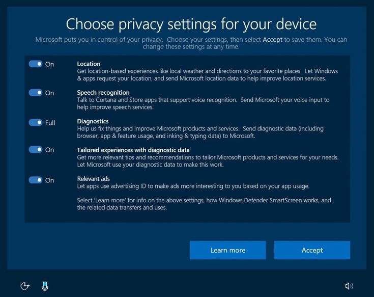 Microsoft is making major changes to how Windows 10 handles your privacy. Image credit: Microsoft
