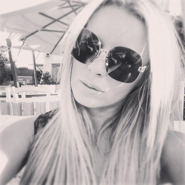 #LindaFarrow sunglasses