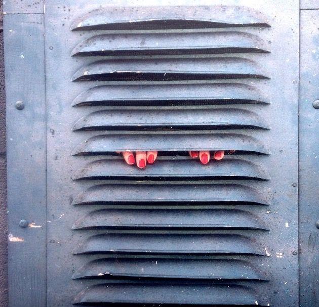 Dan Witz, Queens, NY (LP) #streetart jd