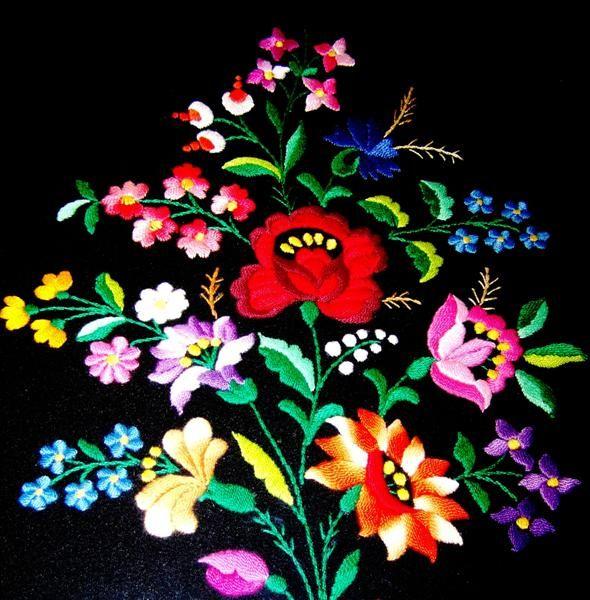 hungarian folk embroidery
