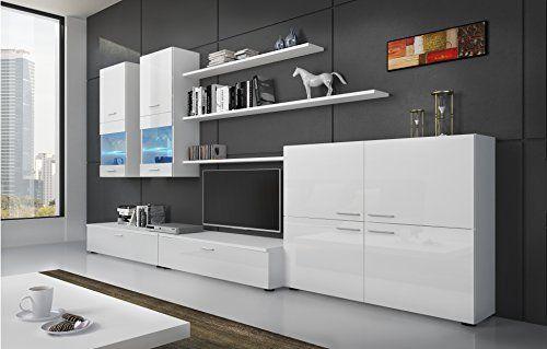 17 mejores ideas sobre comedor moderno en pinterest - Muebles lacados en blanco brillo ...