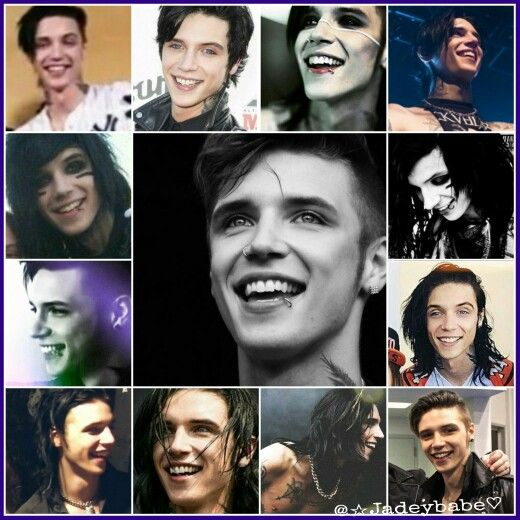 Andy Biersacks smile gives me life