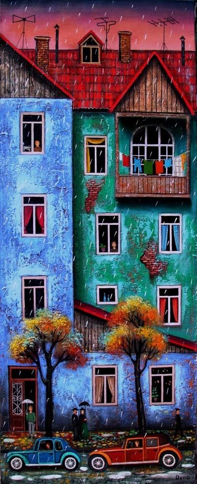 A cidade é sempre bela! David Martiashvili