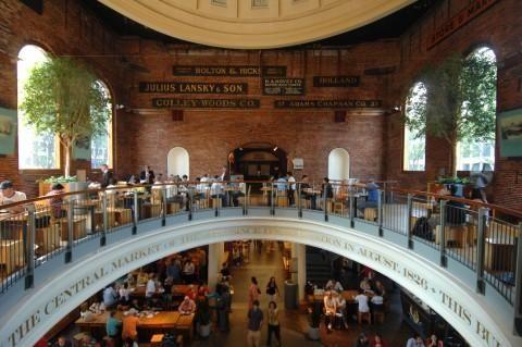 Quincy Market, Boston.