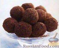 Фото к рецепту: Шоколадные трюфели