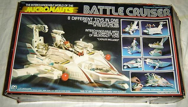 Micronauts Battle Cruiser.............i loved this, 8 toys in one!!!