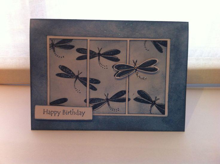 Dragonfly Card - Kaszazz