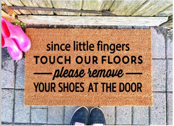 Please Remove Shoes Doormat Perfect To Encourage People To Remove