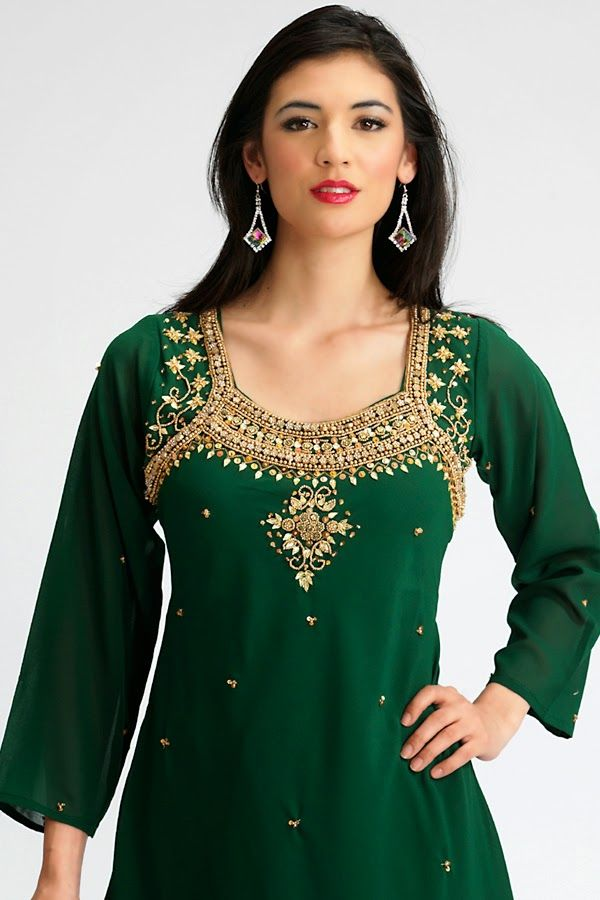 Creative Top 25 Salwar Suit Neck Designs To Admire   Salwar Patterns