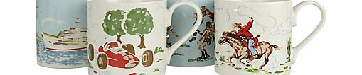 Cath Kidston Boys Larch Mug, Set of 4 Printed with nostalgic sporting activity scenes, this set of four fine china mugs is a gorgeous gift for lovers of Cath Kidston™s iconic designs, as well as a fitting addition to classic kitchens (Bar http://www.comparestoreprices.co.uk/baby-clothing/cath-kidston-boys-larch-mug-set-of-4.asp