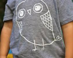 suilhouette owl design kids