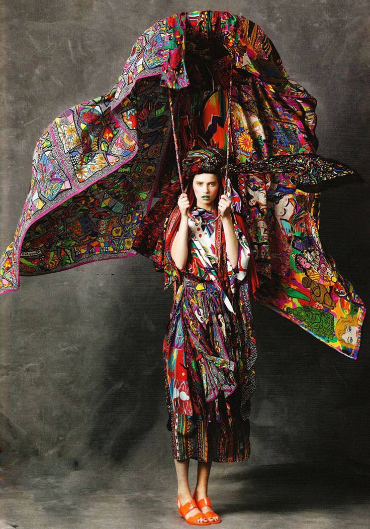 by Jenny Kee, the iconic Australian fashion pioneer of the '70's