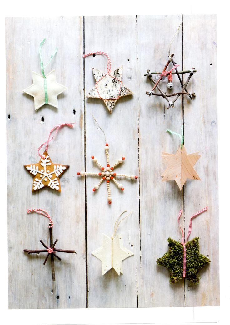 Des étoiles décoratives à réaliser soi-même pour les fêtes de Noël !