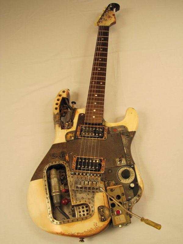Kamikazecaster guitar full Picture