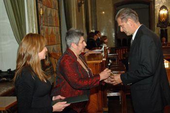 """Dr Marek Bardadyn, twórca Diety Strukturalnej, otrzymał tytuł oraz statuetkę """"Mecenas Zdrowia"""" za zasługi w upowszechnianiu zdrowego stylu życia."""