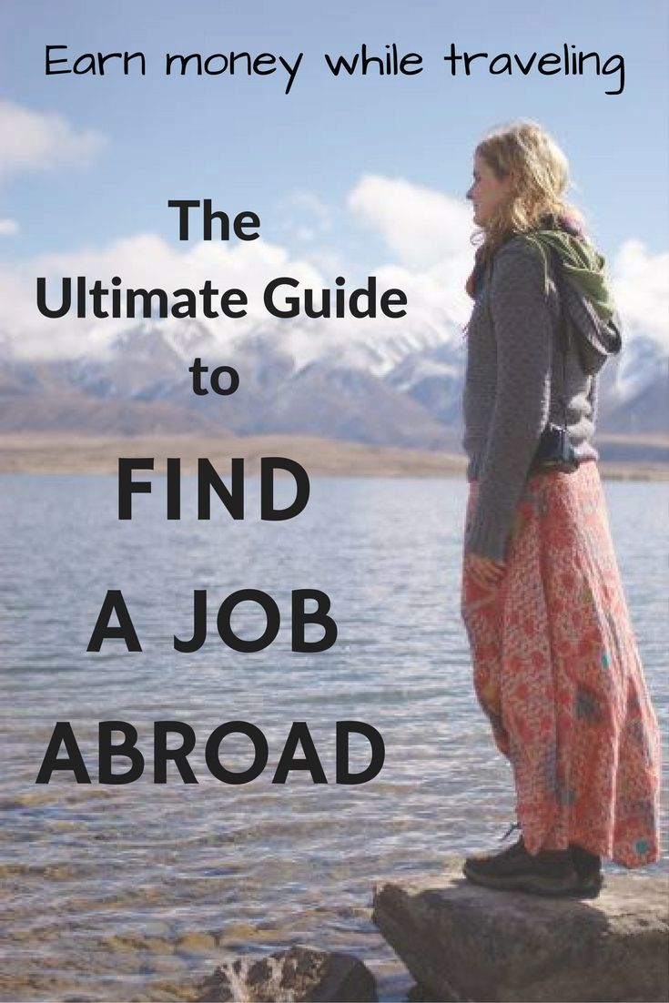 There are many different ways to earn money while traveling. This guide will help you to find an online job or paid work in a foreign country.
