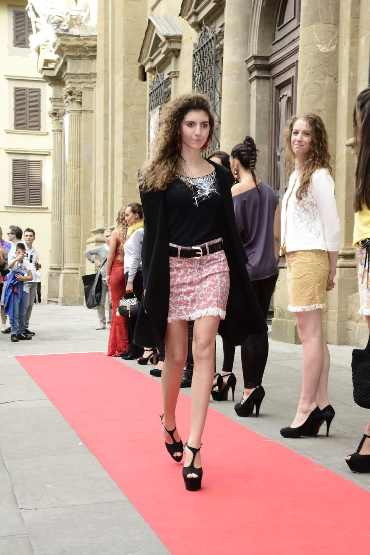 Minigonna d'Autore Primavera Spring Designer Miniskirt