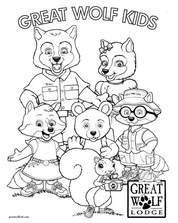 12 best Birthday Ideas: Great Wolf Kids images on