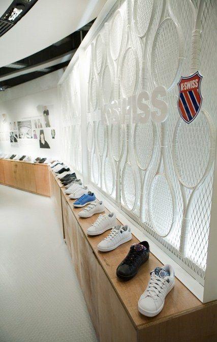 Retail Design   Footware   Store Design   Shop Interiors   K-Swiss