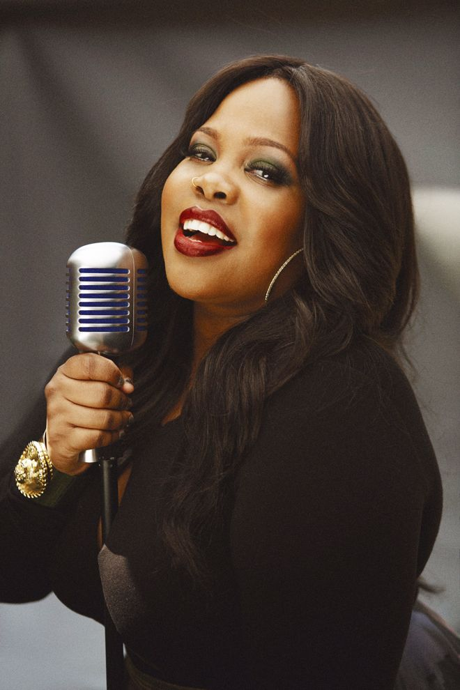 Amber Riley's new headshot