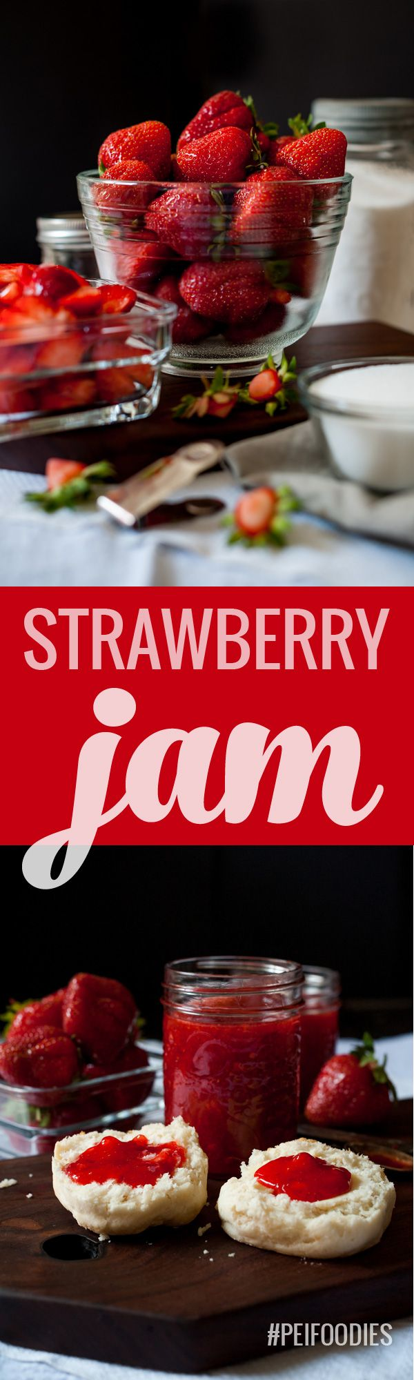 We made freezer jam and it's super easy and delicious! Check it out on the #PEIfoodies blog today!