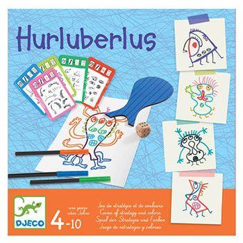 Djeco επιτραπέζιο «Hurluberlus»