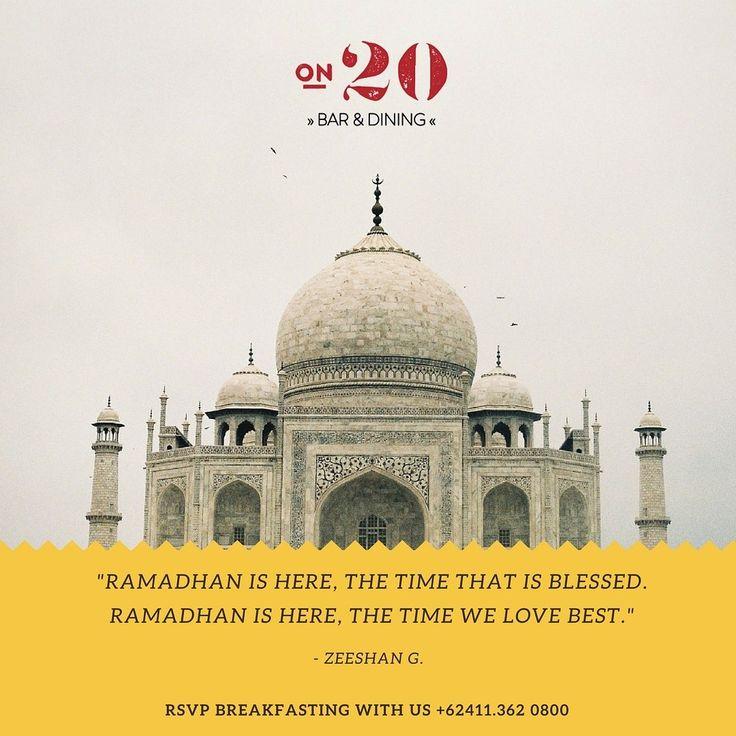 Have a blessed Ramadhan everyone!  #on20makassar | on20makassar.com