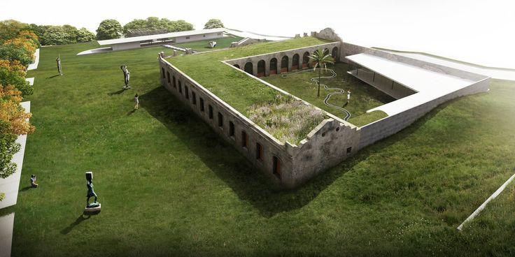 centro de interpretação do pampa - brasil arquitetura