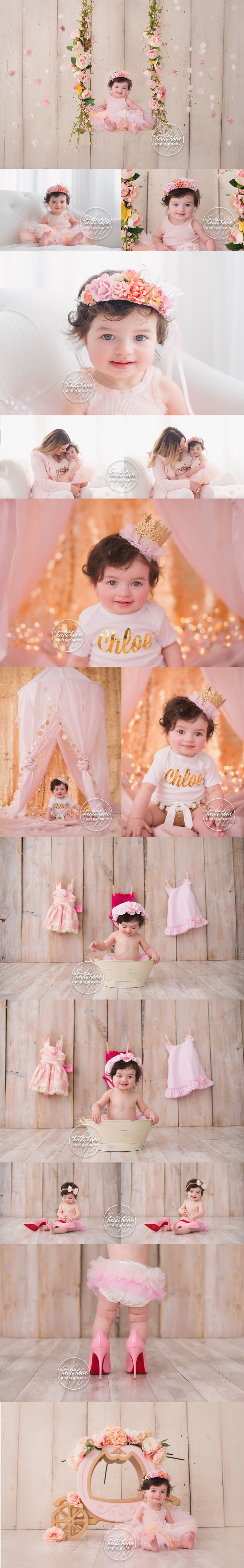 Girly baby portrait inspiration by Boston baby photography Heidi Hope