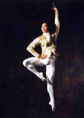 Li Cunxin as the Western Prince in Sleeping Beautry