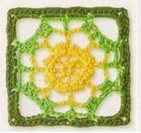 Patrón #1243: Granny a Crochet | CTejidas [Crochet y Dos Agujas]