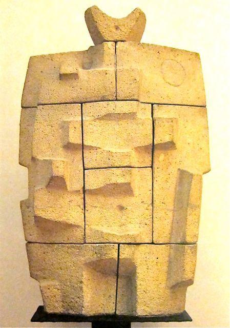 'Masculine Figure' 1958 by Constantino Rivola.