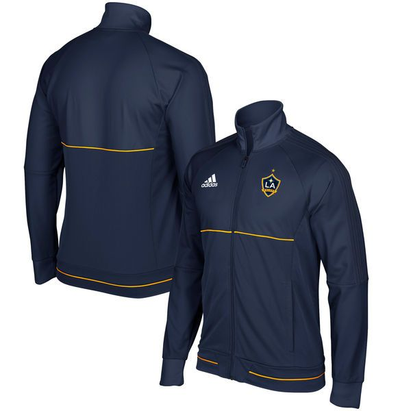 LA Galaxy adidas Anthem Full-Zip Jacket - Navy - $99.99