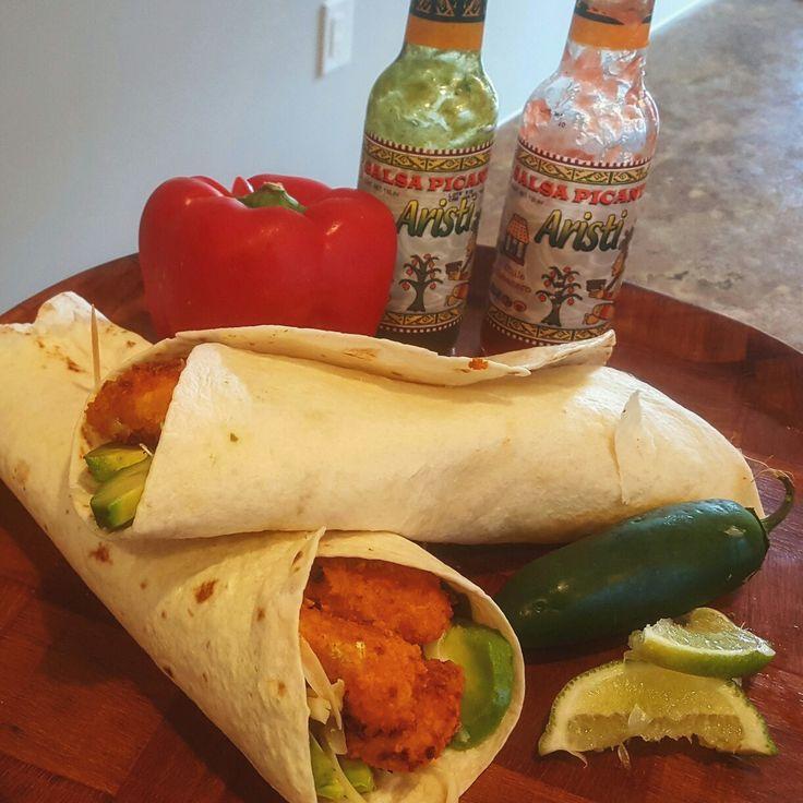 Buffalo Califlower Tacos! #Thegreasyvegetarian