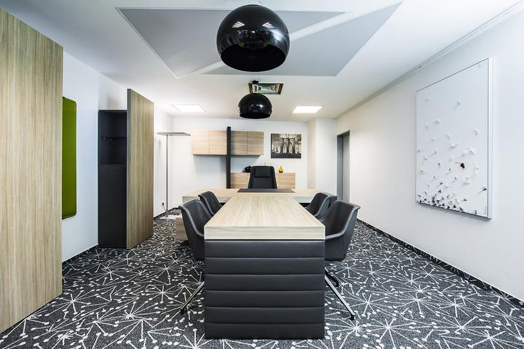 What do you think about our carpet tile collection World Woven? SpacePlan office in Prague, Czech Republic