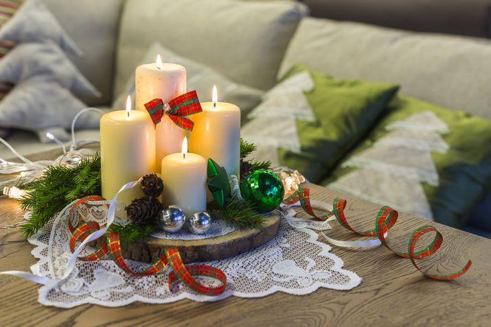 Идеи для новогоднего декора от дизайнера по текстилю Татьяны Наумовой
