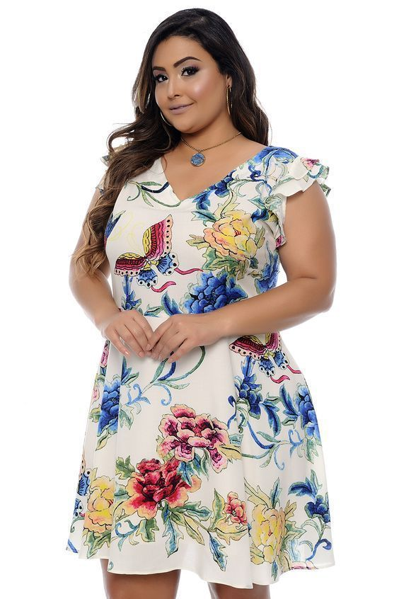 1c953dd11 Modelos de Vestidos Plus Size - Você sempre linda!   vestidos ...