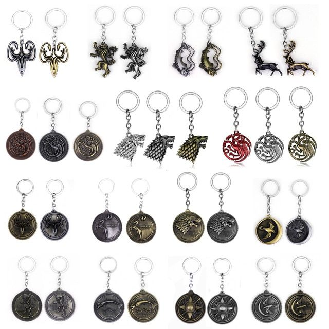 FREE GIFT BAG Game Of Thrones Targaryen Dragon Song of Ice /& Fire Necklace Chain