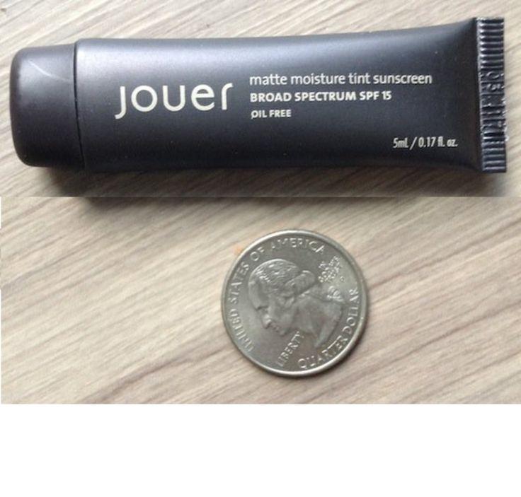 Jouer matte moisture tint oil-free SPF 15
