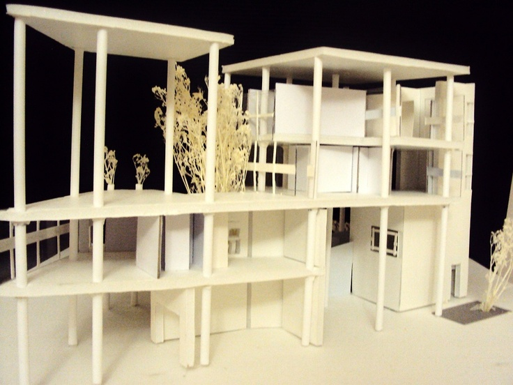 Casa curutchet la plata argentina 1955 le corbusier maquetas de estudio pinterest le - Le corbusier casas ...