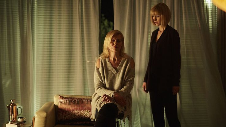 Orla'ath (Anastasia Hille) and Miss Quill (Katherine Kelly) -- Class.S01E03 - ''Nightvisiting'' (Class - BBC Three Series) (Doctor Who - BBC Series) (BBC Three - Photo Gallery: Class -''Nightvisiting'') pic: http://www.bbc.co.uk/programmes/p04d127g/p04d1025 episode page: http://www.bbc.co.uk/programmes/p04d06nr  BBC Three - Photo Gallery: Class -''Nightvisiting'' link: http://www.bbc.co.uk/programmes/p04d127g