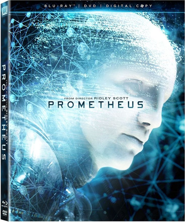 Prometheus (2012) Alien Prequel - Blu-ray DVD Digital Copy - NEW with Slipcover #ALIEN #BLURAY #EBAY #SEANMICHAELGEEK