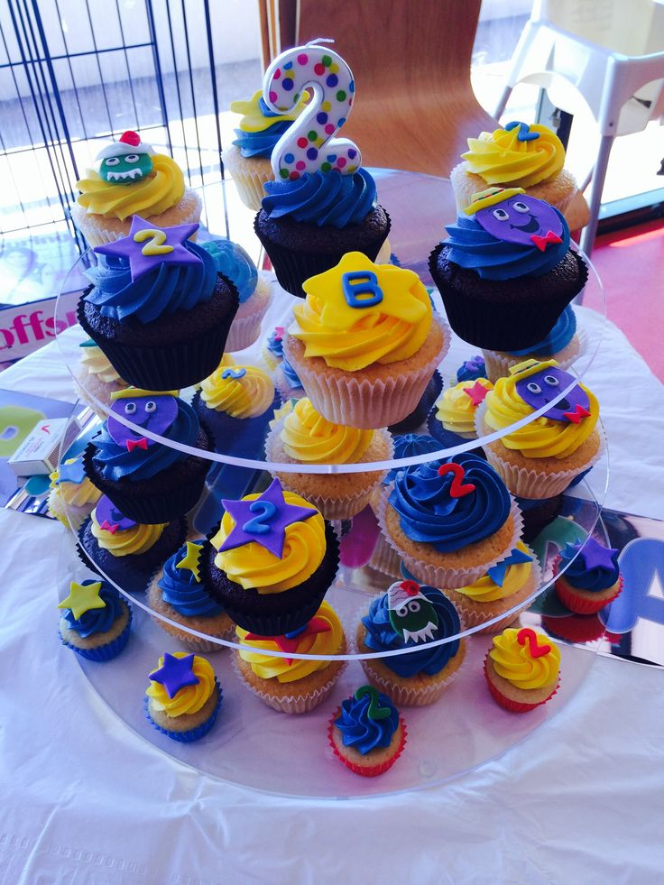 Wiggles cupcake toppers