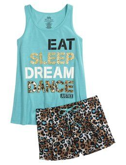 Shop Cheetah Dance Pajama Set and other trendy girls pajamas sleepwear at Justice. Find the cutest girls sleepwear to make a statement today.