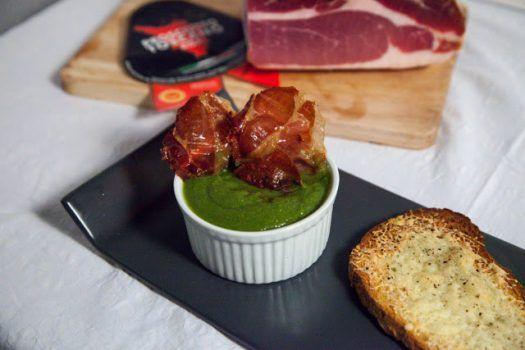 Zuppa di cavolo nero con croccante di Prosciutto Toscano DOP