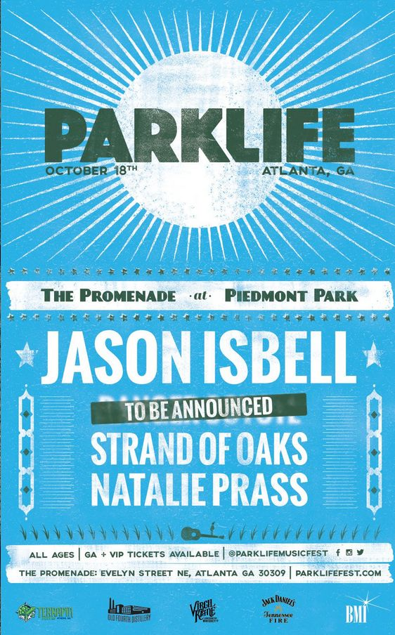 PARKLIFE Festival To Feature Jason Isbell, Strand of Oaks, Natalie Prass, Songwriting, American Songwriter