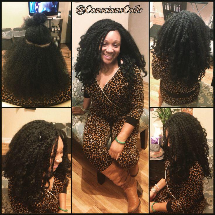 Hairdresser In Jamaica: Style: Crochet Braids/Tree Braids Client's Hair Type: 3b