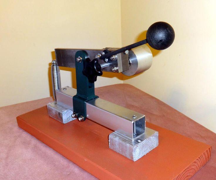Knife Making Belt Sander/Grinder Idle and Tracking Wheel