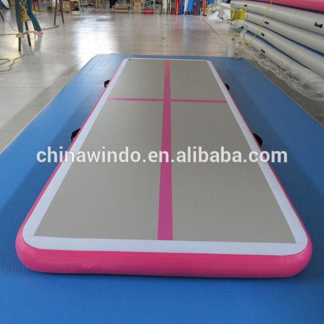 Source 3m 5m pink factory price home mini cheap gym equipment mattress airtrack floor gymnastics tumbling mat inflatable air track on m.alibaba.com